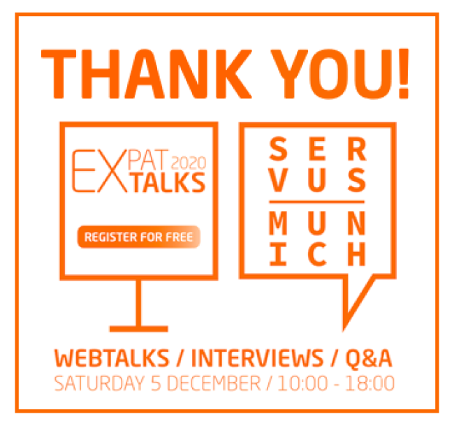 Thank you ExpatTalks2020