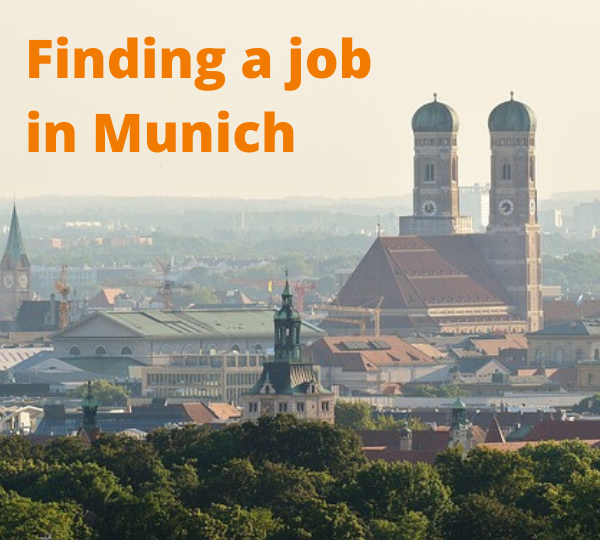 Finding a job in Munich