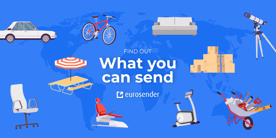 What you can send with Eurosender